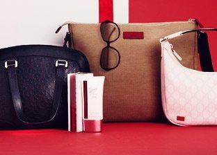 Gucci Handbags, Sunglasses & Fragrances