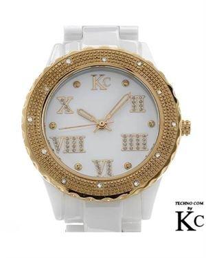 Brand New TECHNO COM Swiss Movement Diamond Ceramic Ladies Watch $139