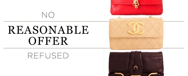 No Reasonable Offers Refused: Handbags by Chanel, Dior, YSL & more