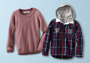 Winter to Spring: Boys' Hoodies & Sweaters