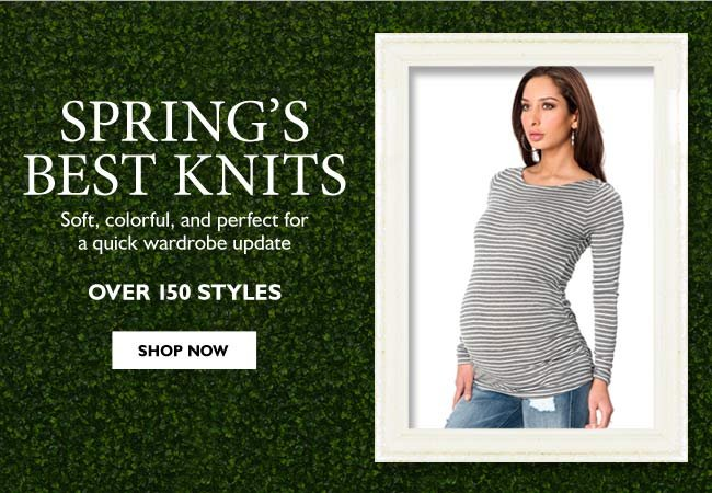 Spring's Best Knits: Soft, colorful, and perfect for a quick wardrobe update