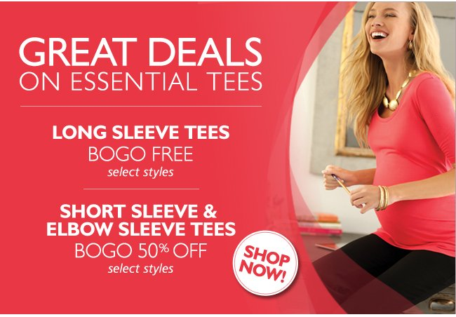 Great Deals on Essential Tees