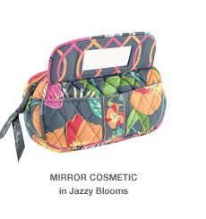 MIRROR COSMETIC in Jazzy Blooms