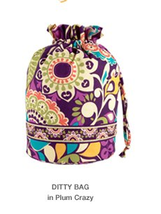 DITTY BAG in Plum Crazy