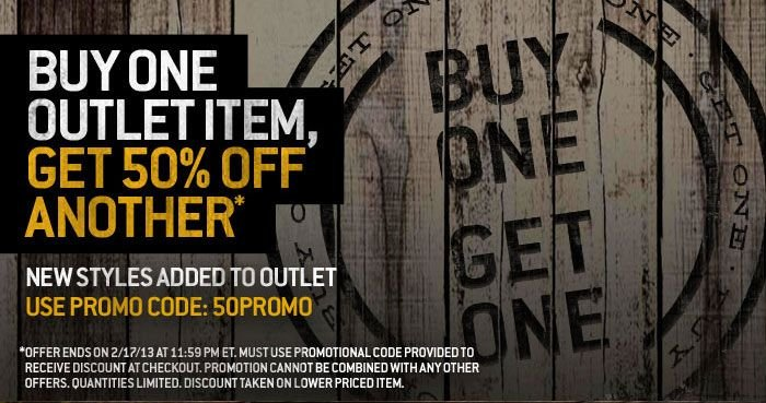 BOGO 50% Outlet