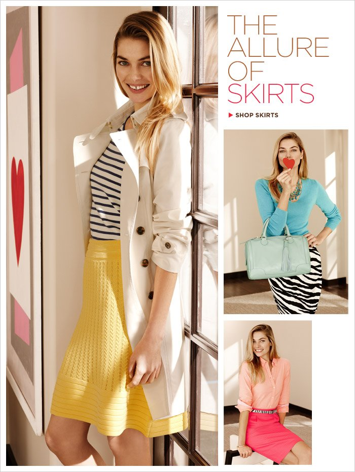 THE ALLURE OF SKIRTS | SHOP SKIRTS