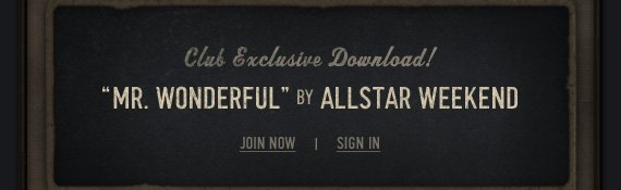 CLUB EXCLUSIVE DOWNLOAD!