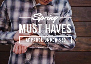 Shop Spring Must Haves: Apparel Under $50