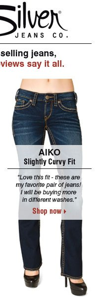 AIKO Slightly Curvy Fit. Shop now