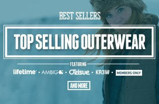 Top Selling Outerwear