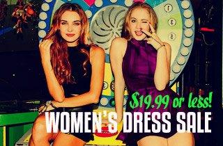 Women's Dress Sale