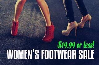 Women's Footwear Sale