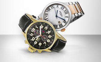 Trend Alert: Two-Tone Watches - Visit Event