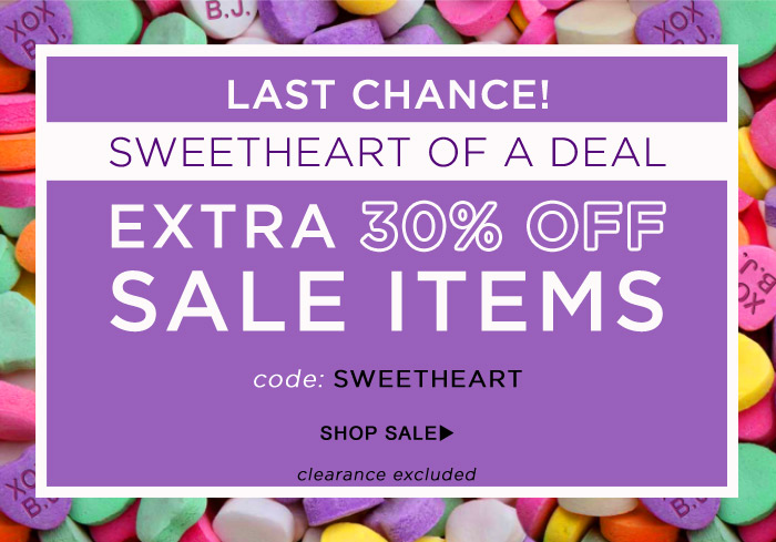 Last Chance - Extra 30% Off Sale Items