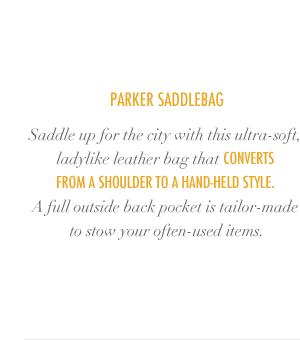 Parker Saddlebag