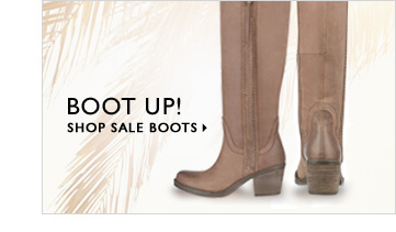 Click here to shop sale boots.