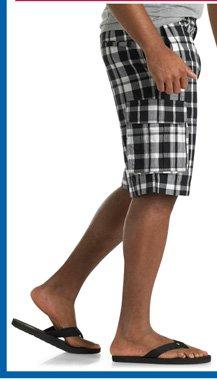 555 Turnpike™ Plaid Cargo Shorts