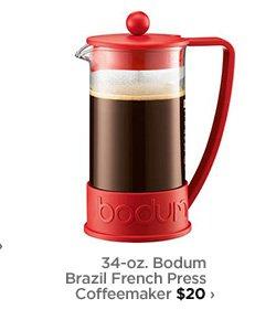 34-oz. Bodum Brazil French Press Coffeemaker $20›