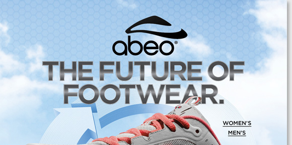 The future of footwear is here! Introducing ABEO AERO, the latest innovation in comfort featuring advanced air-infused technology to generate energy return with each step. AERO features Vibram® outsoles for maximum grip, channeled air chambers for the ultimate comfort and more! Shop now for the best selection at The Walking Company.