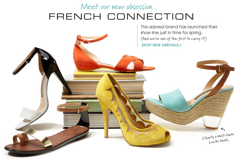 Meet our new obsession... FRENCH CONNECTION SHOP NEW ARRIVALS