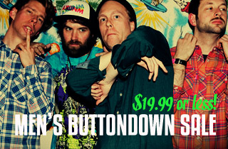 Men's Buttondown Sale
