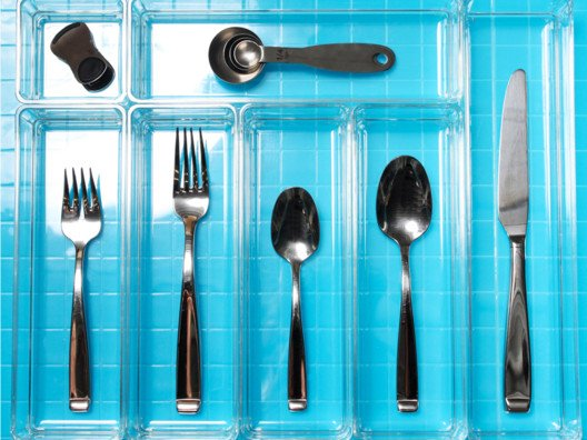 Finally, a flatware organizer that actually fits ALL your flatware!