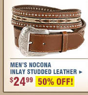 Men's Nocona Inlay