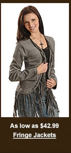 Women's Fringe Jackets