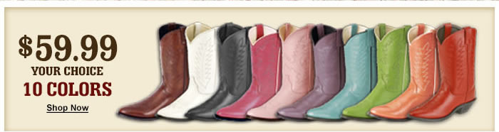 $59.99 Cowgirl Boots
