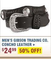 Men's Gibson Concho