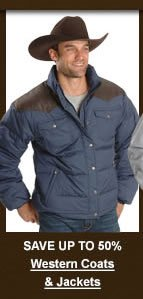 Men's Western Coats & Jackets