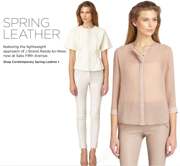 Shop Contemporary Spring Leather