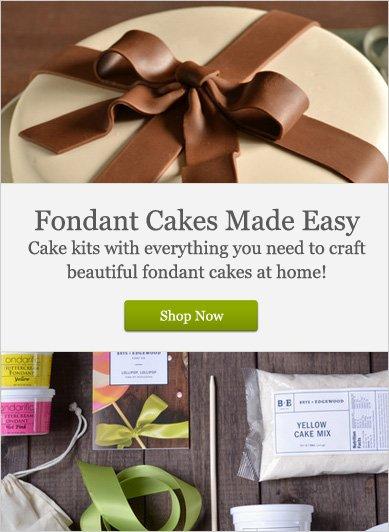 Fondant Cakes Made Easy - Shop Now