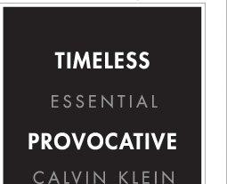 TIMELESS ESSENTIAL PROVOCATIVE CALVIN KLEIN AND SEXY UNDERWEAR