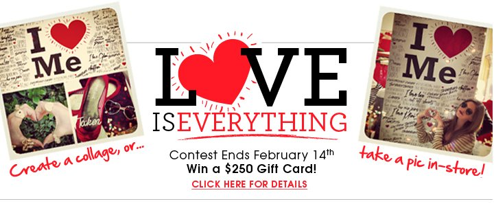Love Is Everything Contest Ends Feb. 14