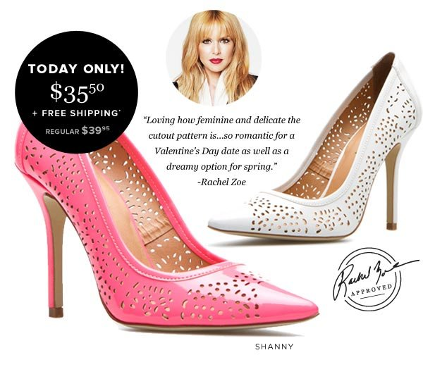 Rachel Zoe Recommends This Daily Fix Style for Spring - Get the Shanny Pump