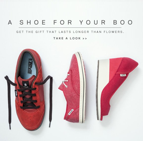 a shoe for your boo - GET THE GIFT THAT LASTS LONGER THAN FLOWERS. TAKE A LOOK >>