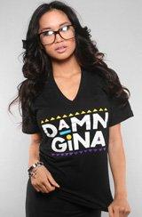 Adapt The Damn Gina V-Neck