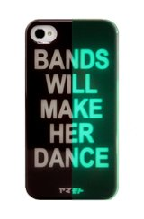 Yamamoto Industries BANDS - GLOW-IN-THE-DARK iPhone 4/4S Case