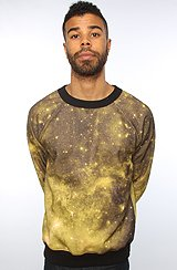 ARSNL The Golden Galaxy Sweater in Black & Gold