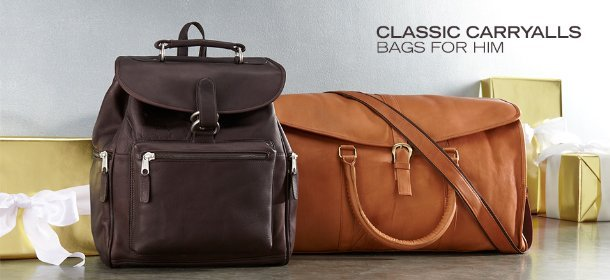 CLASSIC CARRYALLS: BAGS FOR HIM, Event Ends February 13, 9:00 AM PT >