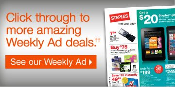 Click  through to more amazing Weekly Ad deals (††). See our  Weekly Ad.