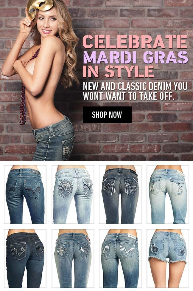 New Affliction Denim - Celebrate Mardi Gras in Style!