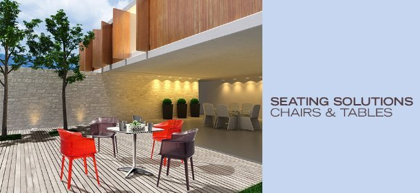 SEATING SOLUTIONS: CHAIRS & TABLES, Event Ends February 15, 9:00 AM PT >
