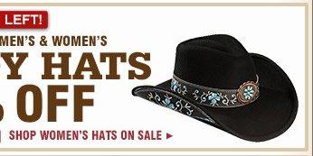 Women's Sale Hats