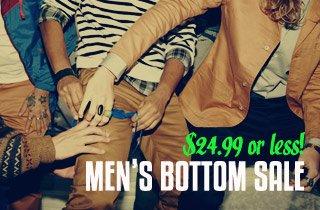 Men's Bottom Sale
