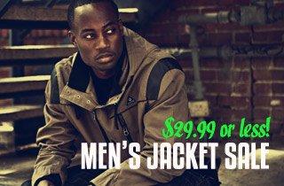 Men's Jacket Sale