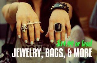 Jewlery, Bags, & Accessories Sale