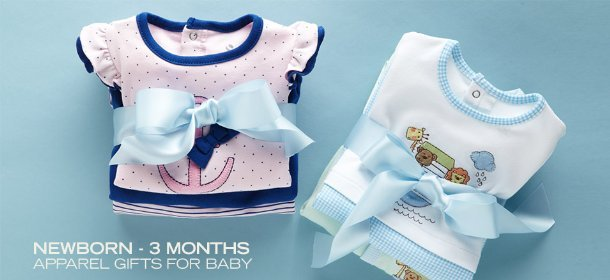 NEWBORN - 3 MONTHS:  APPAREL GIFTS FOR BABY, Event Ends February 15, 9:00 AM PT >