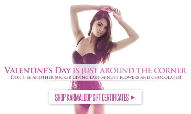 Shop KL Gift Certificates for V-Day!